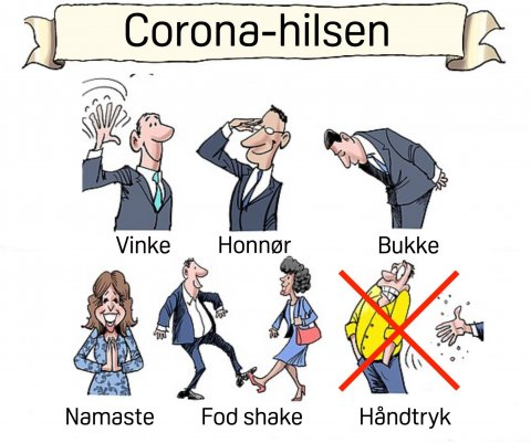 Coronahilsen